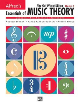 Alfred's Essentials of Music Theory: Book 1 Alto Clef (Viola) Edition (AL-00-18580)