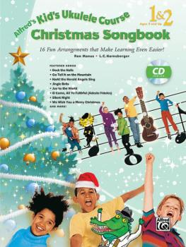 Alfred's Kid's Ukulele Course Christmas Songbook 1 & 2: 15 Fun Arrange (AL-00-42695)