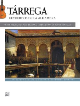 Tárrega: Recuerdos de la Alhambra (AL-00-42720)