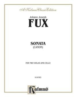 Sonata (Canon) for Two Violas and Basso Continuo (AL-00-K04763)