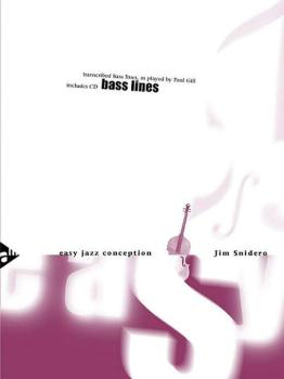Easy Jazz Conception: Bass Lines (Transcribed Bass Lines, as Played by (AL-01-ADV14768)