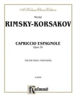 Capriccio Espagnole Piano Duet (AL-00-K05296)