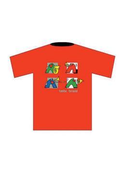 Taste Brass! T-Shirt: Red (Medium) (AL-01-ADV94018)