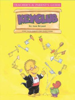 Keyclub Teacher's/Parent's Guide (AL-55-5847A)