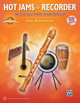 Hot Jams for Recorder (With Guitar and Drum) (AL-00-37776)