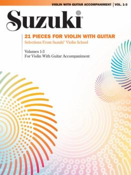 21 Pieces for Violin with Guitar: Selections from Suzuki® Violin Schoo (AL-00-0295S)