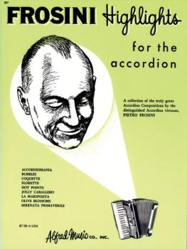 Palmer-Hughes Accordion Course - Frosini Highlights: A collection of t (AL-00-267)