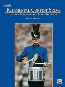Alfred's Rudimental Contest Solos (For the Intermediate Snare Drummer) (AL-00-11802)