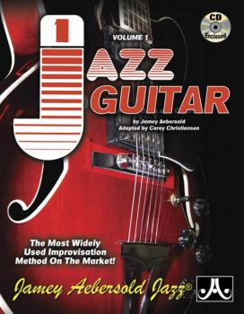 Jamey Aebersold Jazz, Volume 1: Jazz Guitar: The Most Widely Used Impr (AL-24-V01G)
