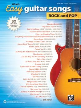 Alfred's Easy Guitar Songs: Rock and Pop: 50 Hits from Across the Deca (AL-00-44725)