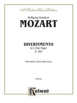 Divertimento in E-flat Major, K. 563 (AL-00-K03742)