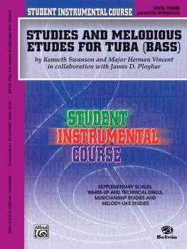 Student Instrumental Course: Studies and Melodious Etudes for Tuba, Le (AL-00-BIC00367A)