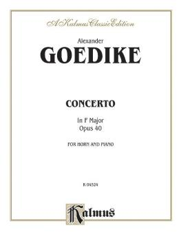 Concerto for Horn and Orchestra (AL-00-K04524)