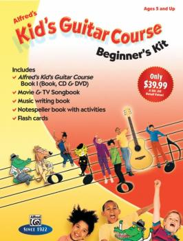 Alfred's Kid's Guitar Course: Beginner's Kit (Ages 5 and Up) (AL-00-42467)