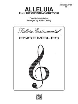 Alleluia (from the <I>Christmas Oratorio</I>) (AL-00-FDENS00015)