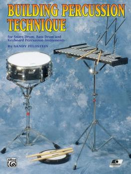 Building Percussion Technique (for Snare Drum, Bass Drum and Keyboard  (AL-00-PERC9621)