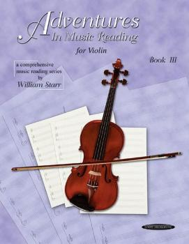 Adventures in Music Reading for Violin (AL-00-0665)