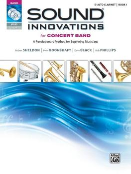 Sound Innovations for Concert Band, Book 1: Alto Clarinet (AL-00-34531)