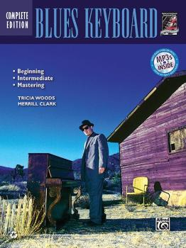 Complete Blues Keyboard Method Complete Edition (AL-00-37277)