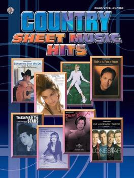 Country Sheet Music Hits (AL-00-MFM0322)