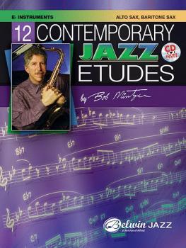 12 Contemporary Jazz Etudes (AL-00-ELM04013)