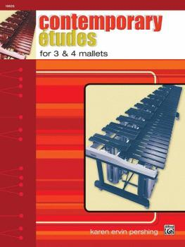 Contemporary Etudes for 3 & 4 Mallets (AL-00-19626)