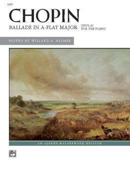 Ballade in A-flat Major (AL-00-22557)