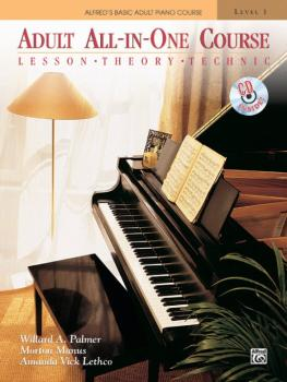 Alfred's Basic Adult All-in-One Course, Book 1: Lesson * Theory * Tech (AL-00-5756)