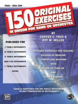 150 Original Exercises in Unison for Band or Orchestra (AL-00-EL00147)