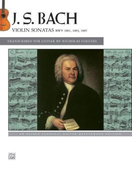 J. S. Bach: Violin Sonatas BWV 1001, 1003, 1005 (AL-00-44011)