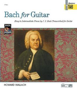 Bach for Guitar: Masters in TAB (AL-00-17866)