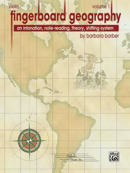 Fingerboard Geography for Violin, Volume 1: An Intonation, Note-readin (AL-00-29121)