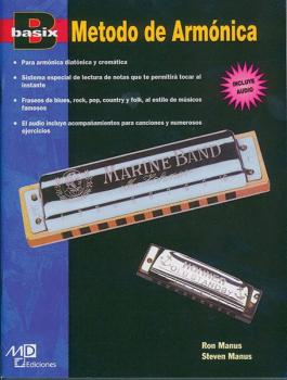 Basix®: Harmonica Method (Spanish Edition) (AL-00-17892)
