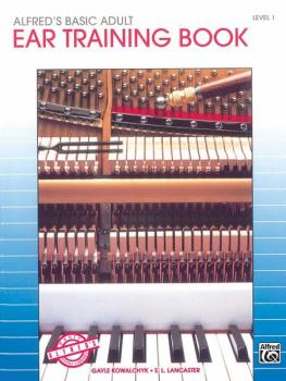 Alfred's Basic Adult Piano Course: Ear Training Book 1 (AL-00-5732)