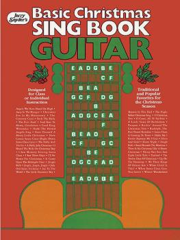 Basic Christmas Sing Book Guitar (AL-00-F2487EGC)