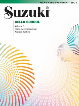 Suzuki Cello School Piano Acc., Volume 5 (Revised) (AL-00-0270S)