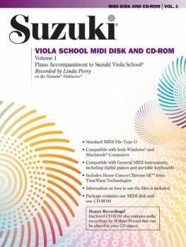 Suzuki Viola School MIDI Disk Acc./CD-ROM, Volume 1 (AL-00-30610)