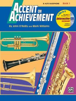 Accent on Achievement, Book 1 Alto Saxophone (AL-00-17087)