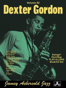Jamey Aebersold Jazz, Volume 82: Dexter Gordon (Swingin' Hard-Bop) (AL-24-V82DS)