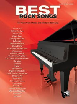 Best Rock Songs: 43 Tunes from Classic and Modern Rock Eras (AL-00-45056)