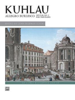 Allegro Burlesco, Opus 88, No. 3 (AL-00-16800)