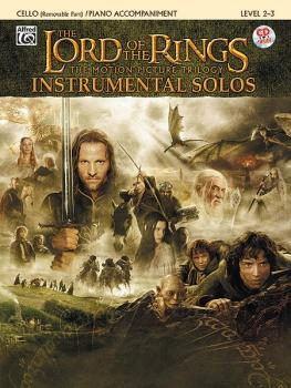 <I>The Lord of the Rings</I> Instrumental Solos for Strings (AL-00-IFM0414CD)