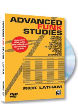 Advanced Funk Studies: Creative Patterns for the Advanced Drummer in t (AL-00-42352)