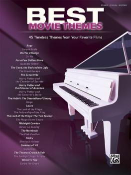 Best Movie Themes: 45 Timeless Themes from Your Favorite Films (AL-00-44682)