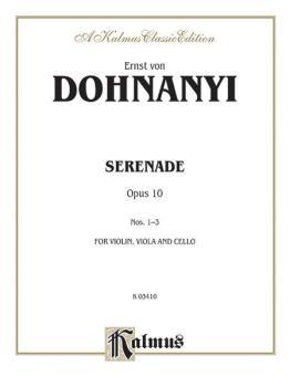 Serenade, Opus 10 (AL-00-K03410)