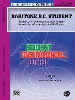 Student Instrumental Course: Baritone (B.C.) Student, Level III (AL-00-BIC00361A)
