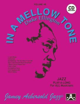 Jamey Aebersold Jazz, Volume 48: In a Mellow Tone---Duke Ellington (AL-24-V48DS)