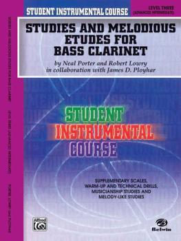Student Instrumental Course: Studies and Melodious Etudes for Bass Cla (AL-00-BIC00317A)