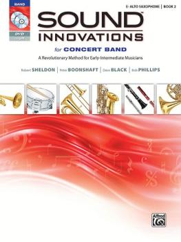 Sound Innovations for Concert Band, Book 2: Alto Saxophone (AL-00-34555)