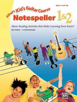 Alfred's Kid's Guitar Course Notespeller 1 & 2: Music Reading Activiti (AL-00-19401)